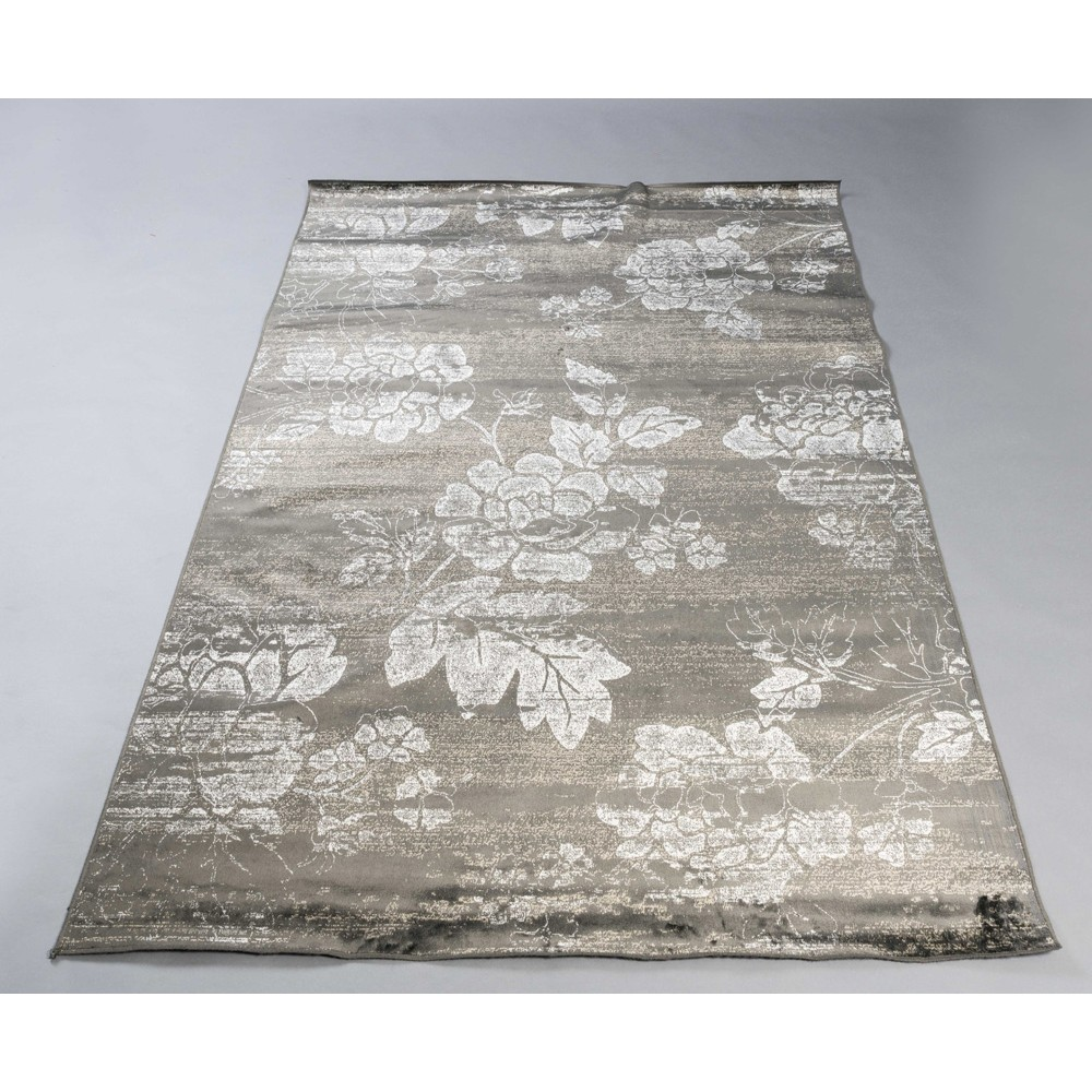 Tapis Soyeux - 84135 - 160x230 - ANTHRACITE S/F