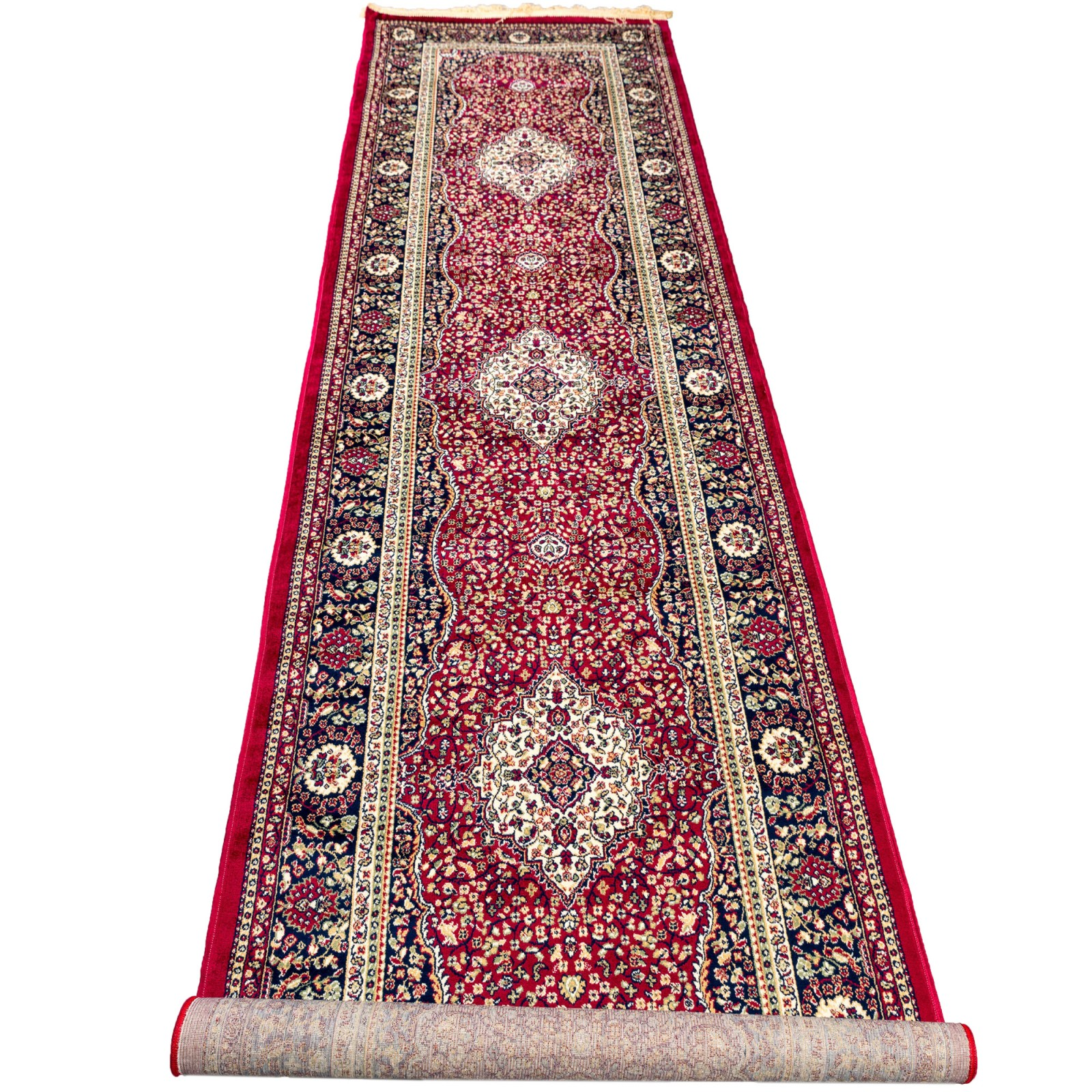 Tapis Soyeux -77808 -0,80X400 -Red/Tradition